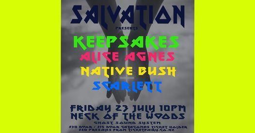SALVATION: Alice Agnes \/ Keepsakes \/ Native Bush \/ Scarlett
