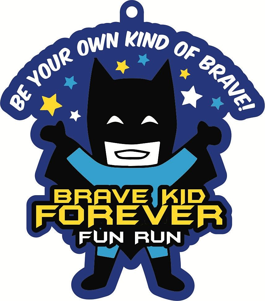 2021 Brave Kid Forever 1\/2 M 1M 5K 10K -Participate from Home. Save $3