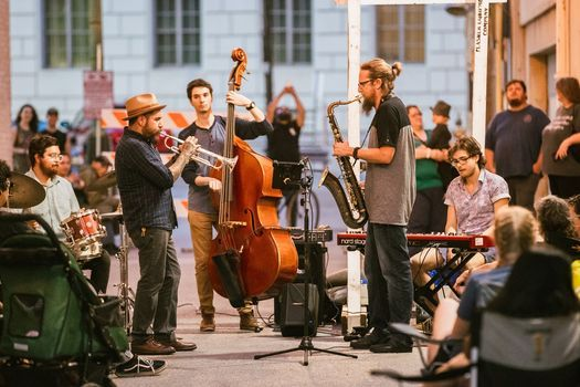 Jazz in the Alley feat Tony Romero's The Spiders