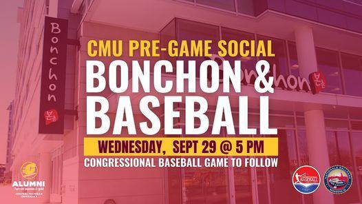 CMU Pre-Game Social at Bonchon   Congressional Baseball Game