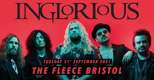 Inglorious at The Fleece, Bristol 21\/09\/21