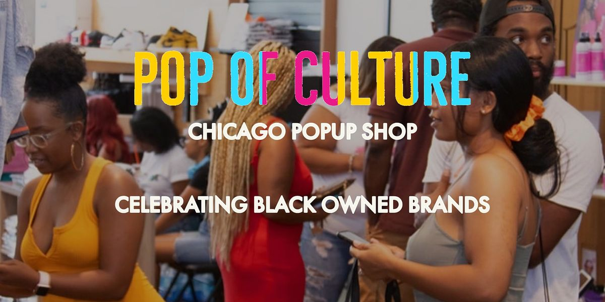 Pop of Culture \u2014Chicago Popup Shop