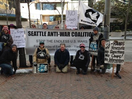 1st Tuesday Anti-War Protest