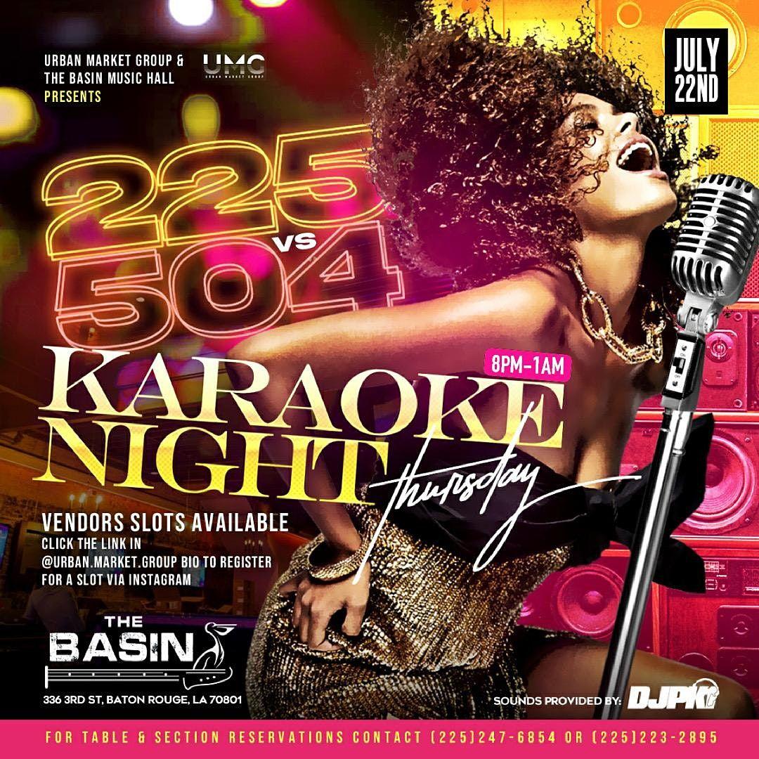 225 vs 504 Karaoke Night