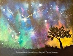IN STUDIO CLASS Enchanted Sky Sun Aug 8th 1:30pm $30