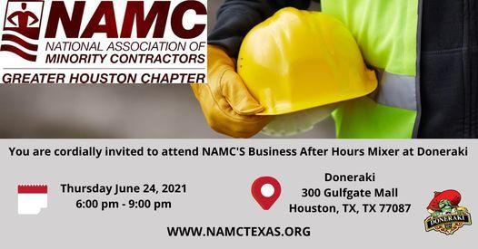 NAMC'S Business After Hours Mixer