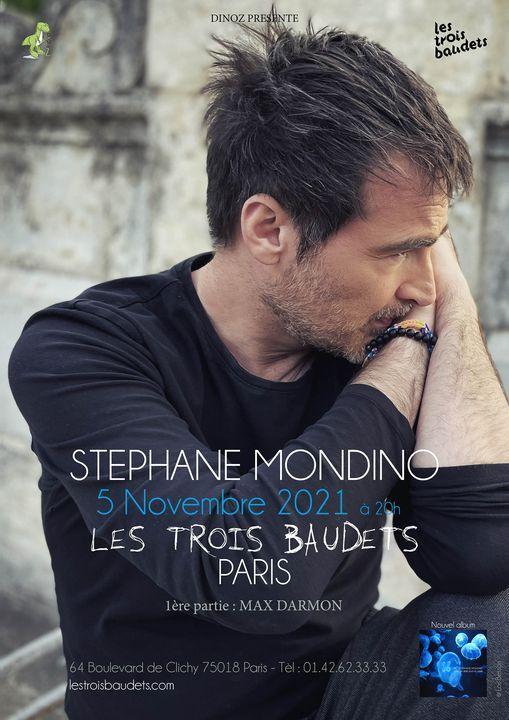 Concert St\u00e9phane Mondino aux Trois Baudets