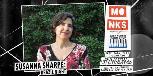 Susanna Sharpe: Brazil Night - Livestream Concert w\/Studio Audience