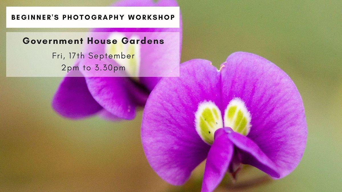 Government House Gardens Photowalk