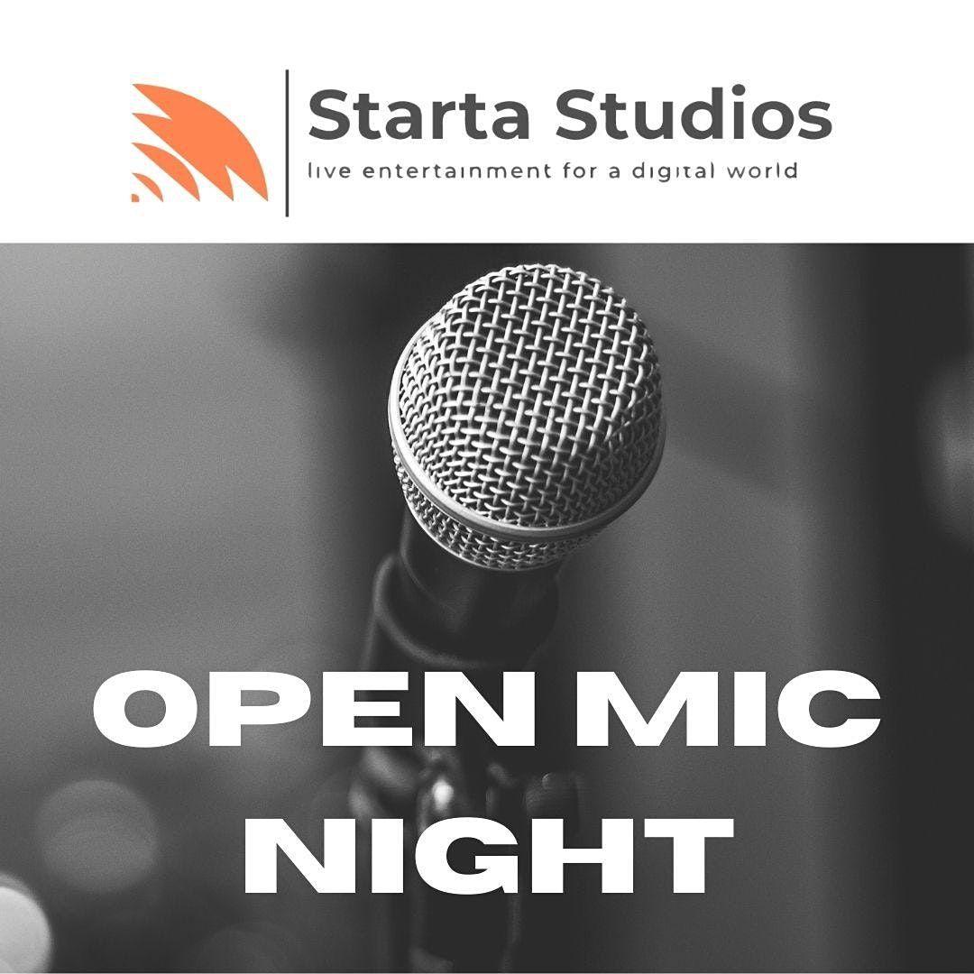 Starta Studios Open Mic