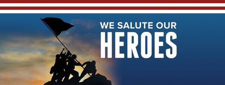 5th Annual   We Salute Our Heroes