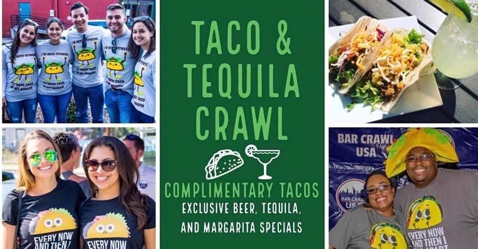 Taco & Tequila Crawl: Dallas