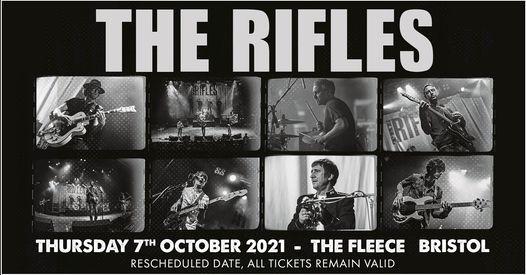 The Rifles at The Fleece, Bristol 07\/10\/21