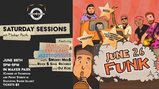 Saturday Sessions at Maker Park - Funk