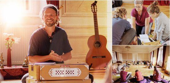 Harmoniumkurs Intensiv mit Martin Hinze, Gaiatrees in M\u00fcnchen