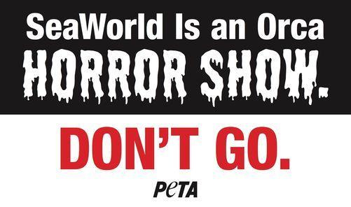 Halloween SeaWorld protest