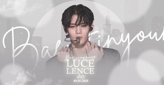 Lucelence Day - Bae Jinyoung Free Mini Photobook Event
