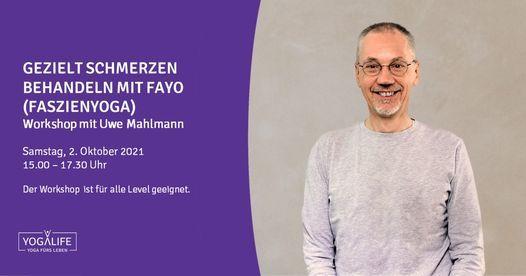 Gezielt Schmerzen behandeln mit FaYo (Faszien Yoga) | Workshop mit Uwe Mahlmann