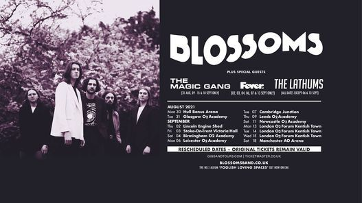 Blossoms - London O2 Forum Kentish Town