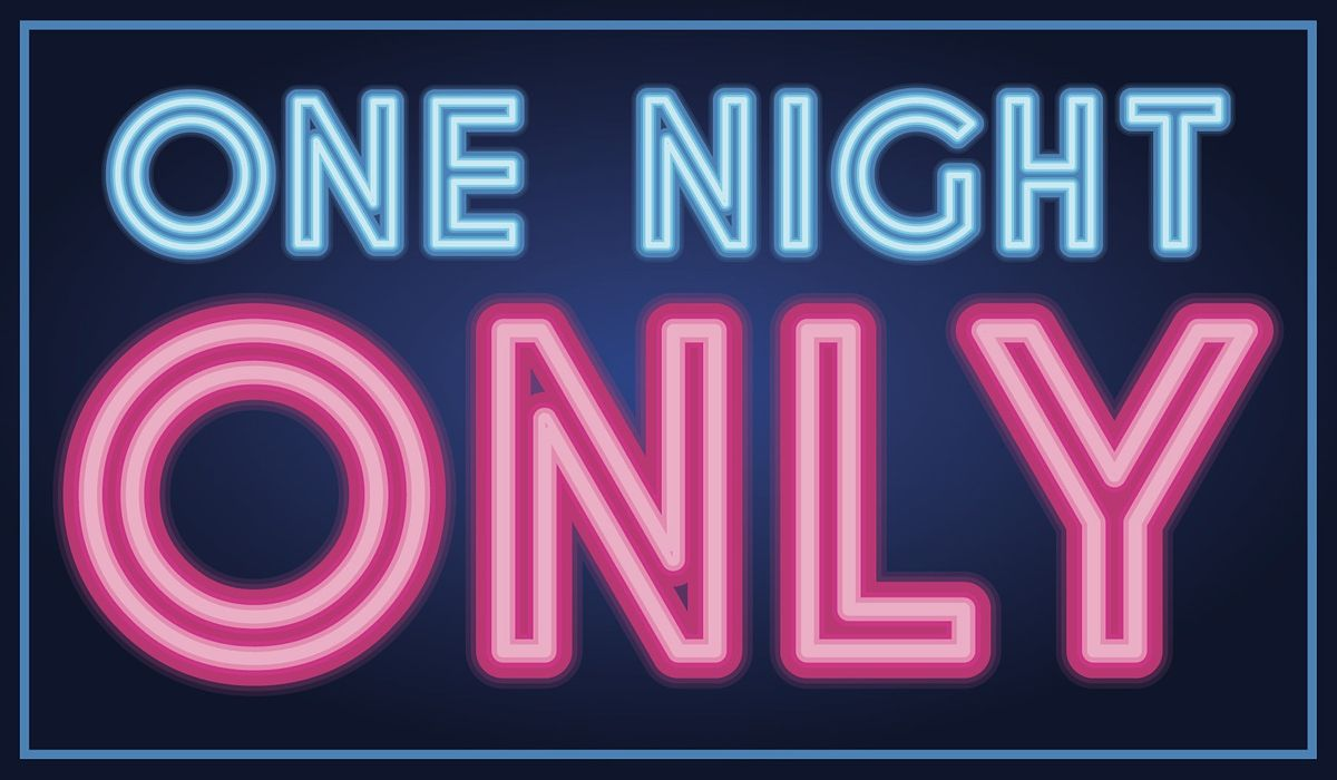 """""""One Night Only"""" Special Event at Karma #NapkinWar"""