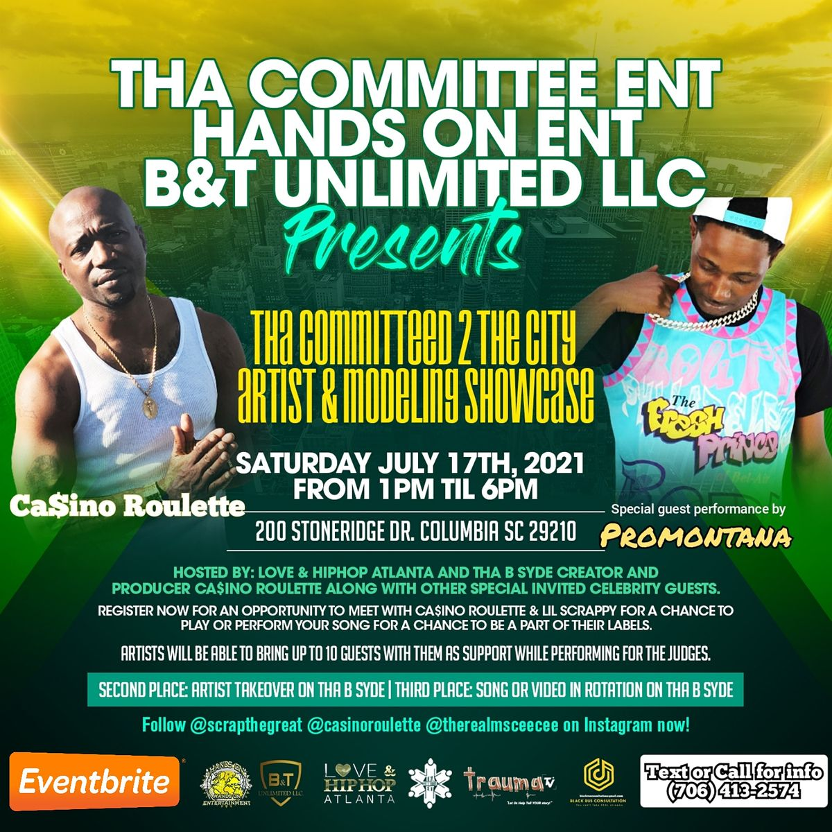 Tha Committed 2 The City Aritst & Modeling Audiition 2