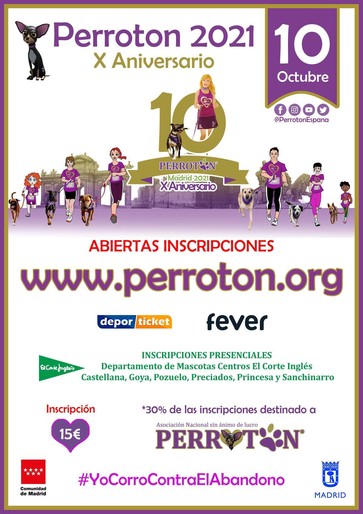 PERROTON MADRID 2021 - 10\u00ba ANIVERSARIO PERROTON ESPA\u00d1A
