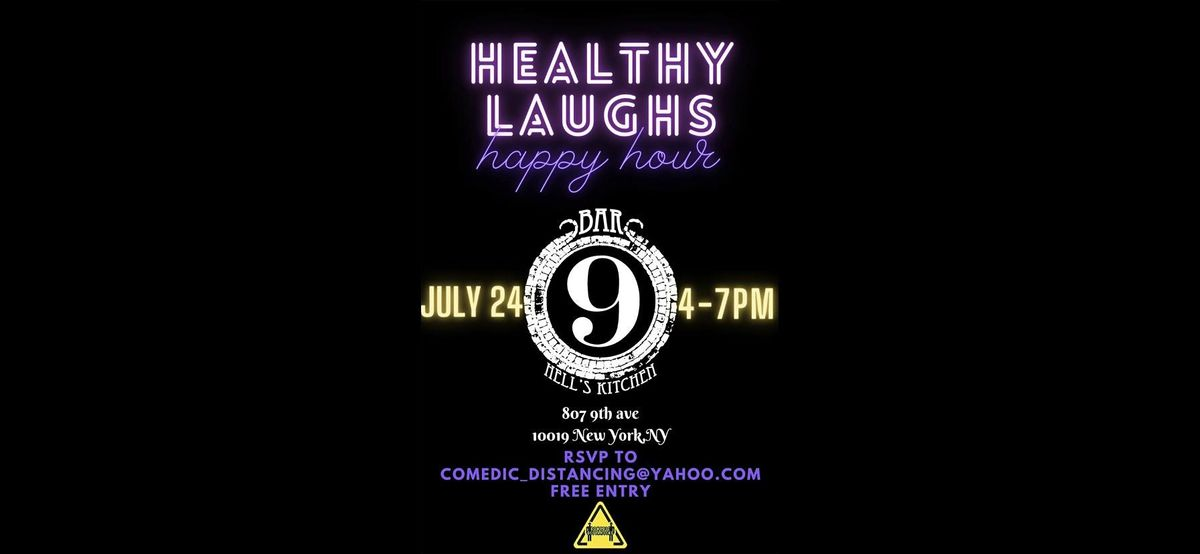 HEALTHY LAUGHS BAR 9