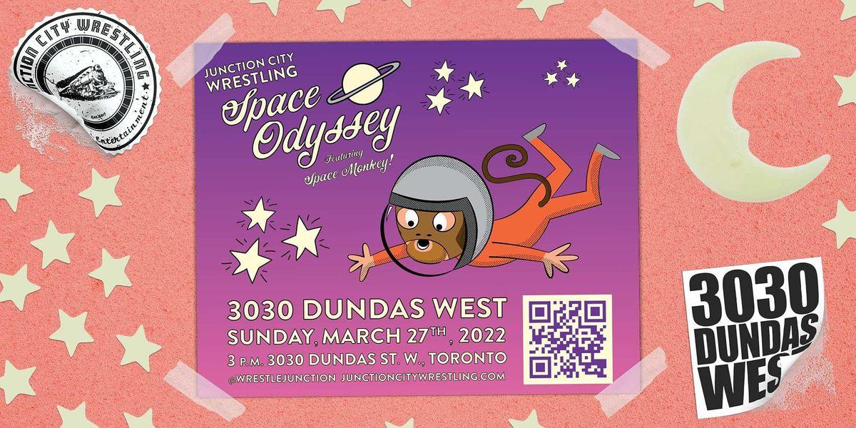 Junction City Wrestling - Space Odyssey @ 3030 Dundas West
