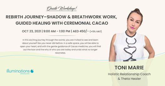 Rebirth Journey \u2013 Shadow And Breathwork Work, Guided Healing With Ceremonial Cacao