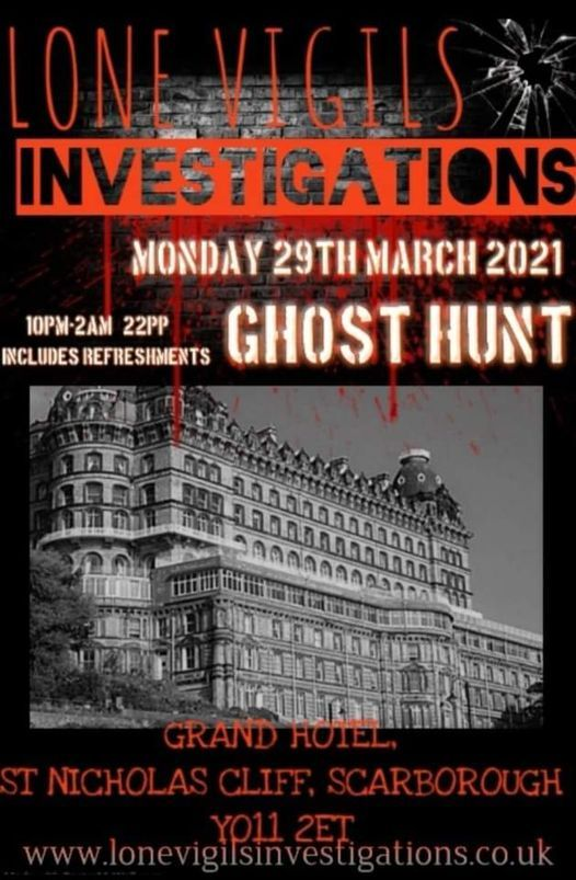 The Grand Hotel Monday 29th March 2021 10 2am Britannia Grand Hotel Scarborough 29 March To 30 March