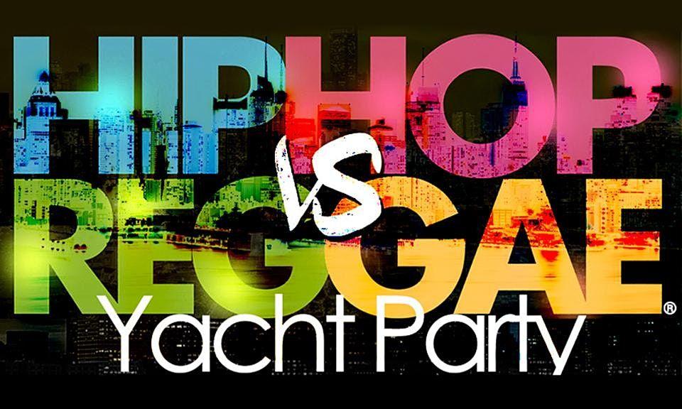 NYC Hip Hop vs Reggae\u00ae Friday Midnight Cruise Skyport Marina Cabana Yacht