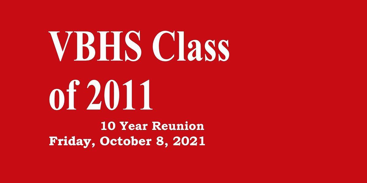 Vero Beach High School Class of 2011 10 Year Reunion