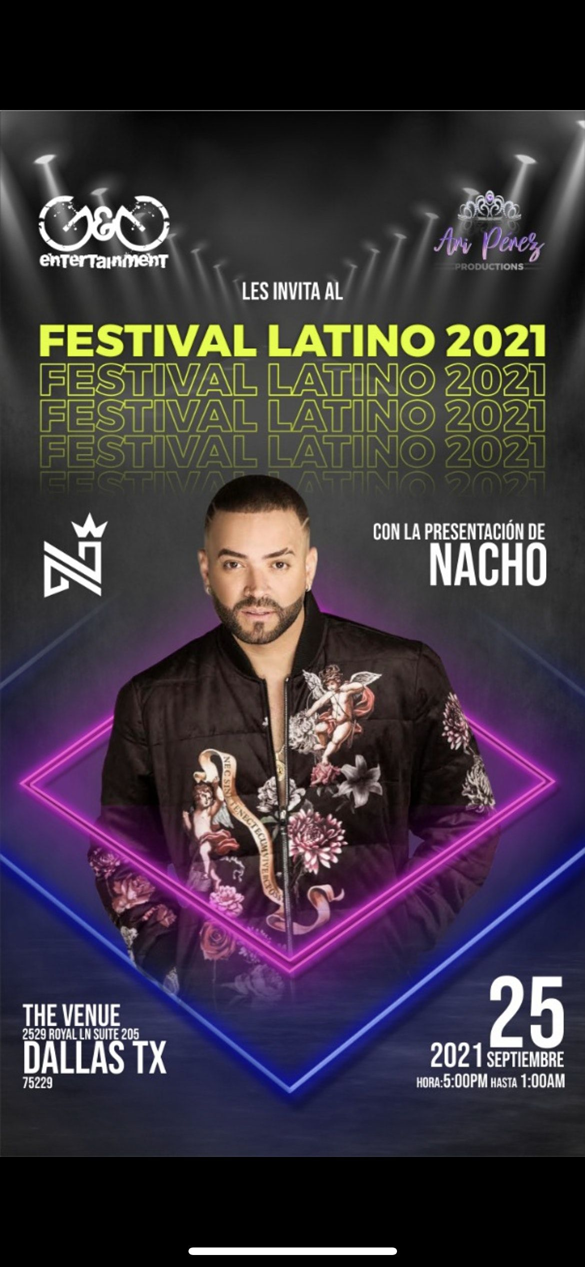 FESTIVAL LATINO FEATURING NACHO