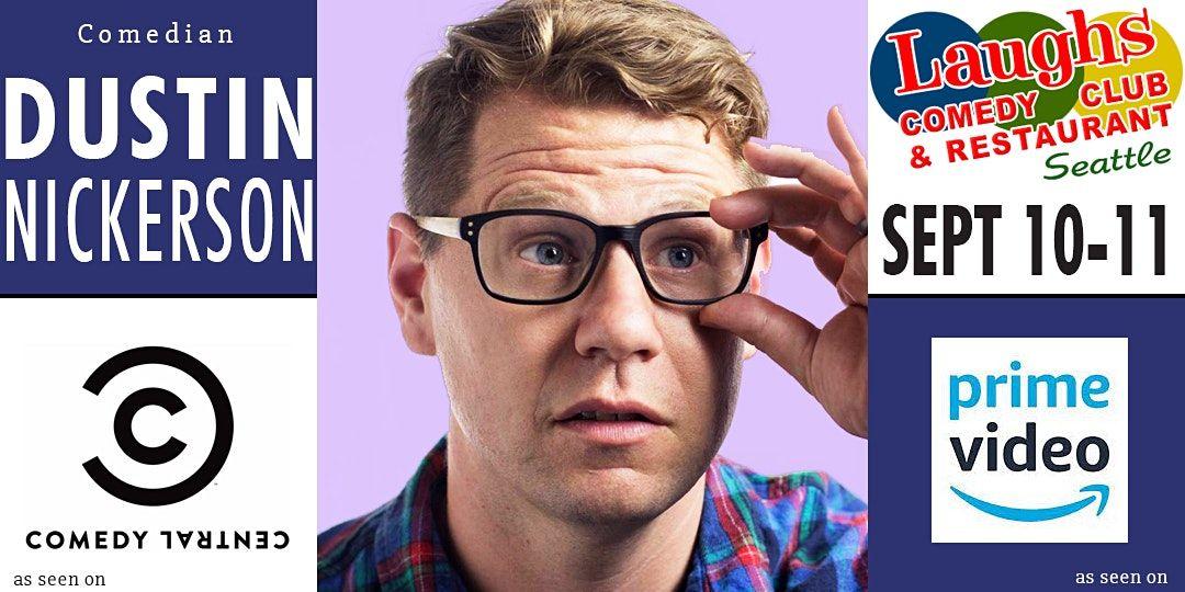 Comedian Dustin Nickerson