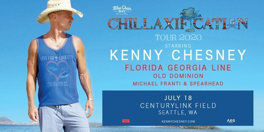 New Date: Kenny Chesney at Centurylink Field