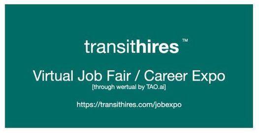 TransitHires Virtual Job Fair \/ Career Expo