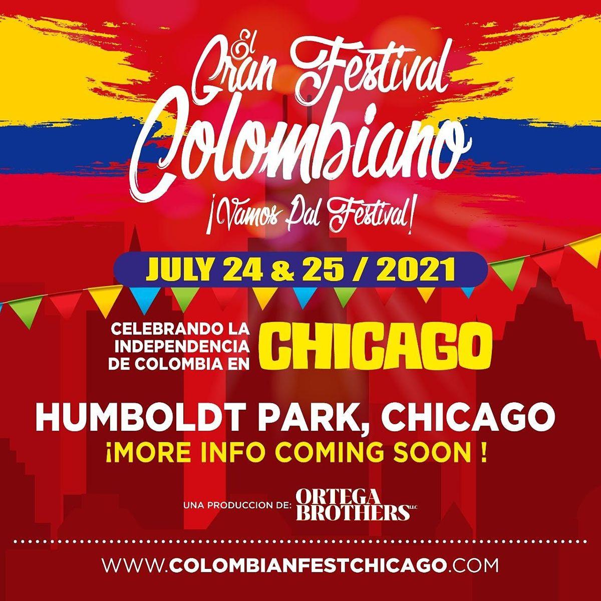 CHICAGO'S  COLOMBIAN FEST\/ GRAN FESTIVAL COLOMBIANO