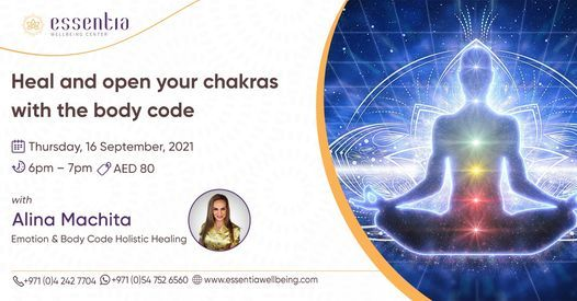 Heal & open your chakras with the body code with Alina Machita