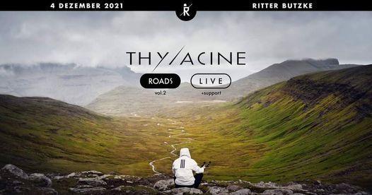 "**RESHEDULED ** Thylacine ""Roads Vol.2"" Konzert"
