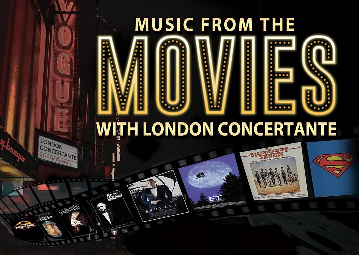 MUSIC FROM THE MOVIES, Manchester - Sunday 19th September