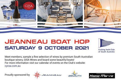 Jeanneau Boat Hop