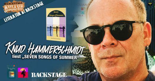 Knud Hammerschmidt liest \u201eSEVEN SONGS OF SUMMER\u201c l LITERATUR IM BACKSTAGE