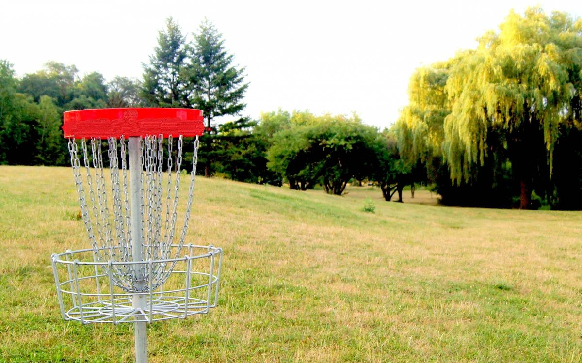 Founder frisbee golf