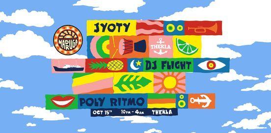 Madruga Pres. Jyoty, DJ Flight, Poly-Ritmo