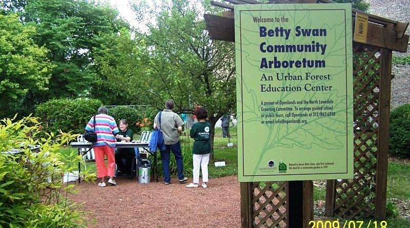 Workday at Betty Swan Community Arboretum