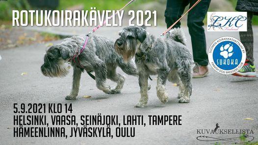 Rotukoirak\u00e4vely Helsinki 2021