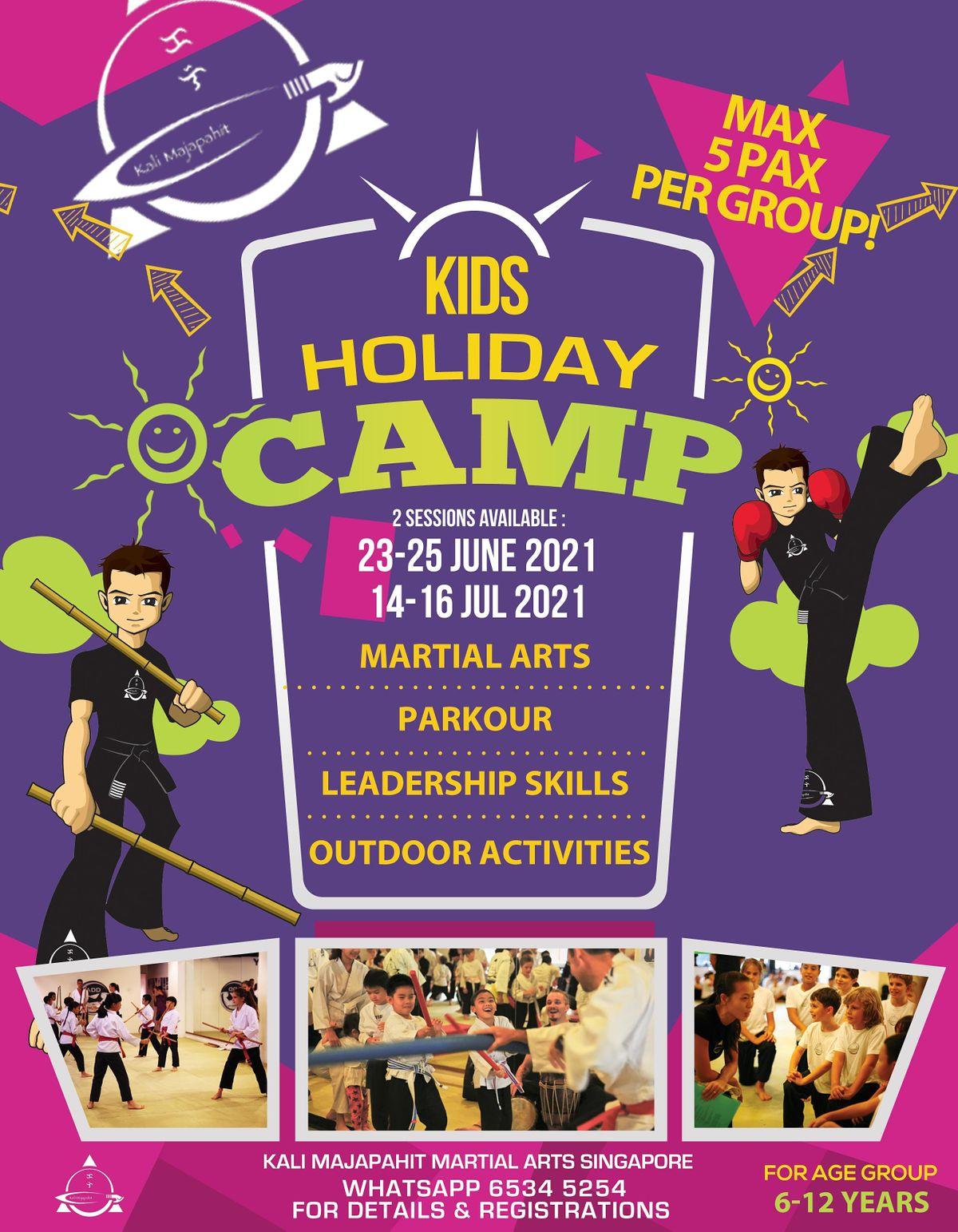 Kali Majapahit Kids Leadership Camp 2021