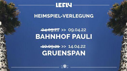 Verlegt - Le Fly   Hamburg - 14.04.22