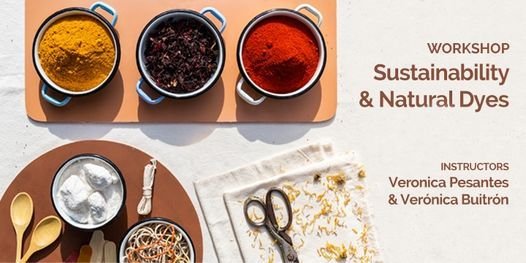 Sustainability & Natural Dyes Workshop