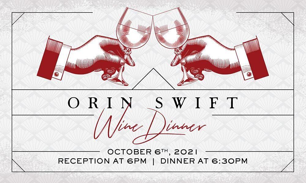 Orin Swift Wine Dinner at Heaton's Vero Beach!